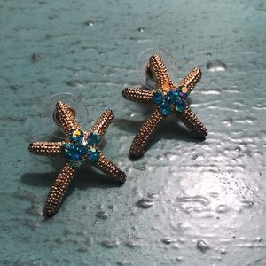 Beautiful Starfish Earrings 🐚